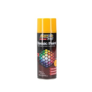 Pintura Spray Amarillo 400ML. MotorLife