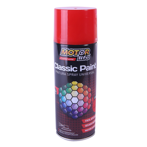 Pintura Spray Rojo 400ML. MotorLife