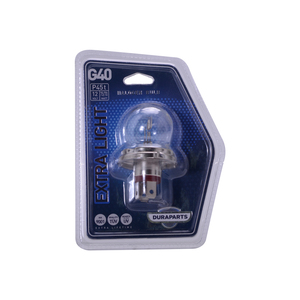 Ampolleta Extra Light G40 de 12V y 75/70W Base P45T DGP