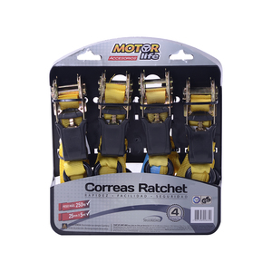 Set de 4 Correas Ratchet MotorLife