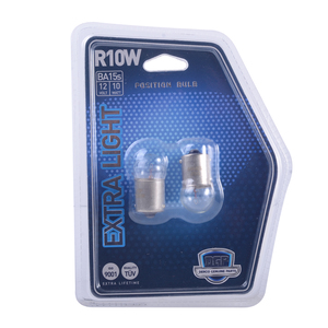 Ampolleta Extra Light R10W de 12V y 10W Base BA15S DGP