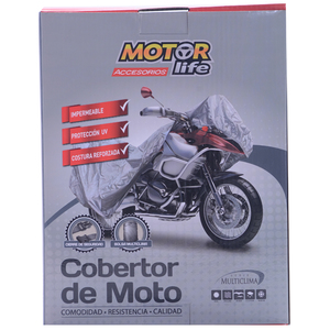 Cubre Moto Impermeable Talla M MotorLife