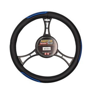 Cubre Volante Negro-Azul Value MotorLife