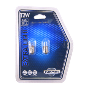 Ampolleta Extra Light T2W de 12V y 2W Base BA9S DGP