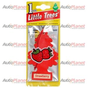 Aromatizante Papel LITTLE TREES Frutilla