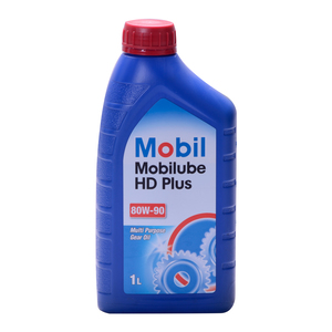 Aceite Transmisión Mecánica Mobil Ube HD Plus 80W90 1LT