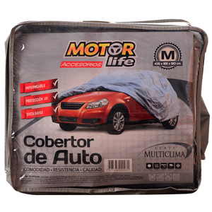 Cubre Autos 100% Impermeable Talla M MotorLife