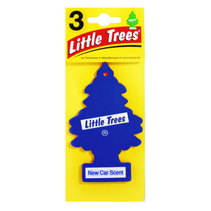 Aromatizante Papel Aroma New Car Set de 3 Little Trees